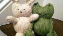 Ribbit And Rabbit Are Friends