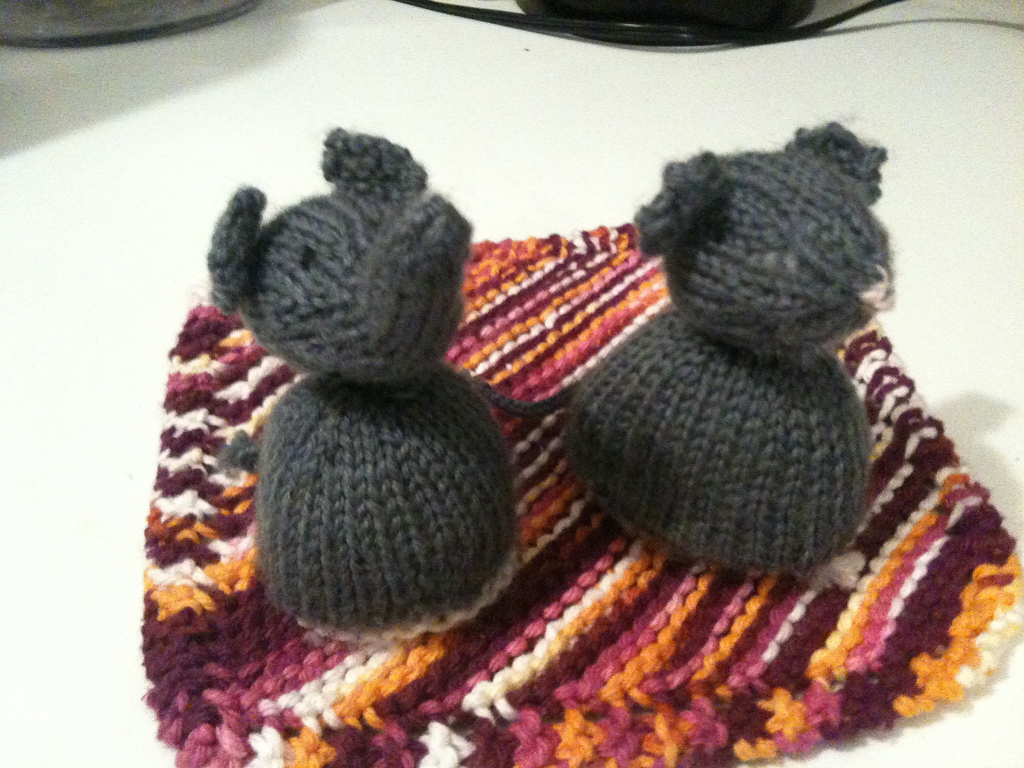 Grey Elephant And Mouse