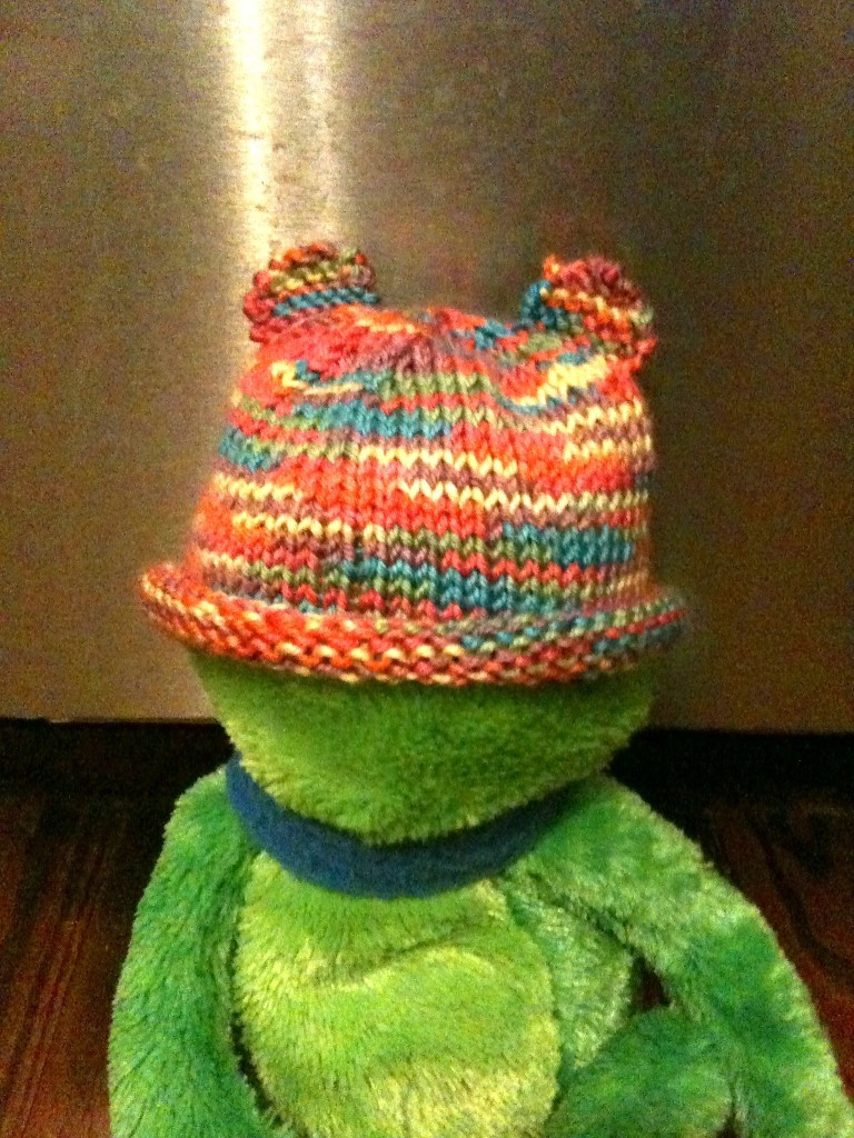 Rainbow Bear Hat