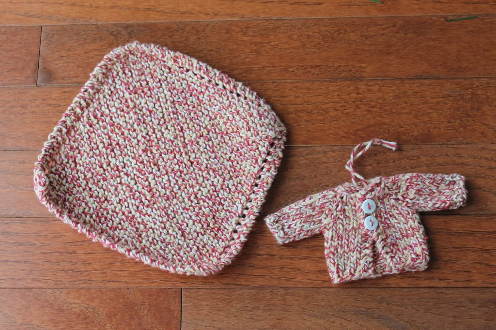 Dishcloth and Cardigan