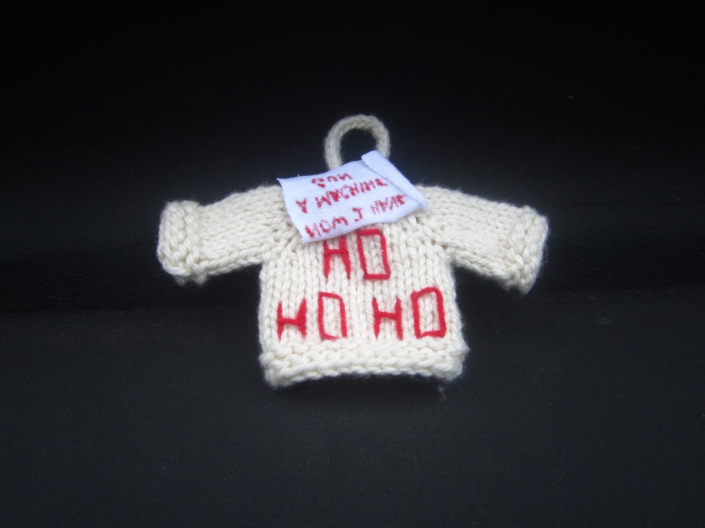 Die Hard Sweater Ornament