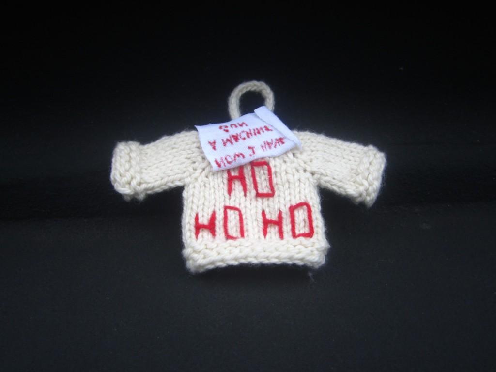 Die Hard Sweater Ornament