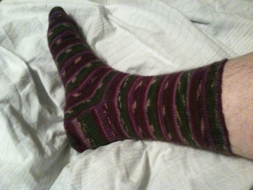 My First Real Adult Sock