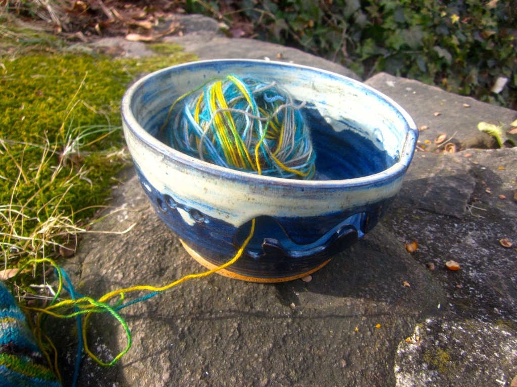Yarn In Bowl
