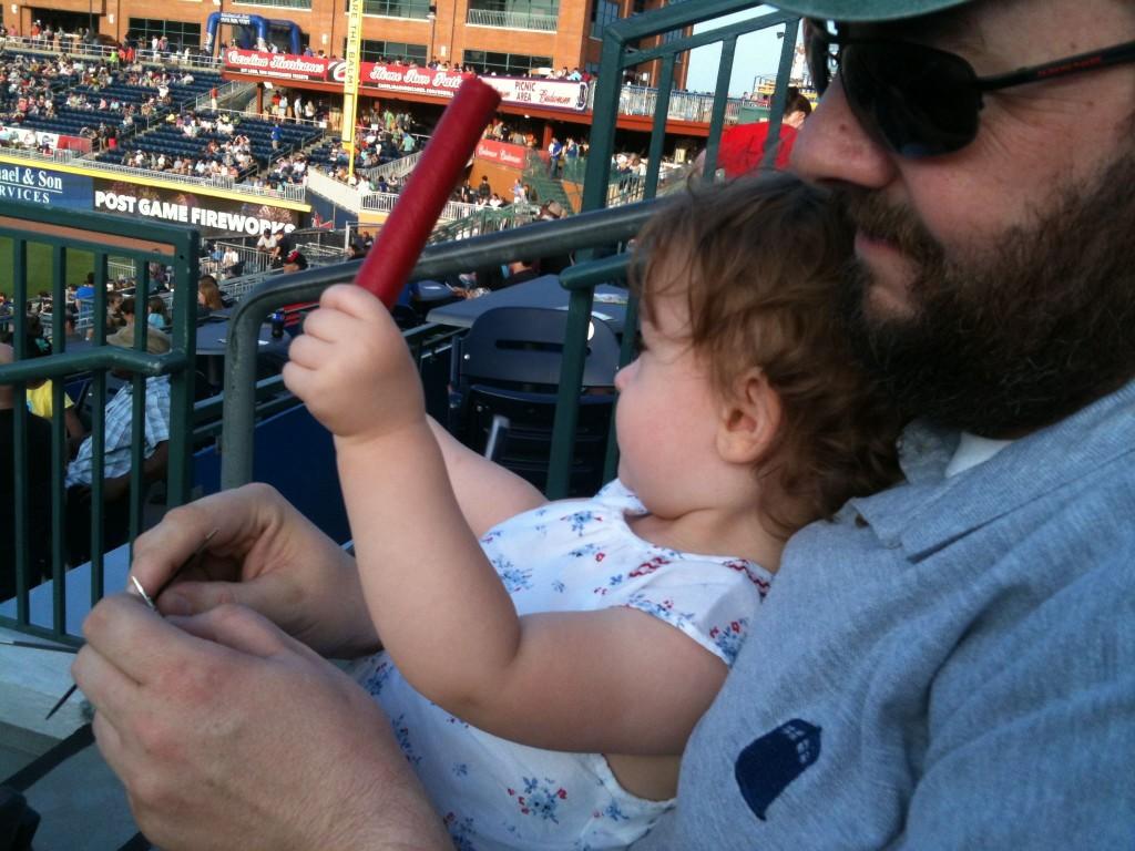 Blueberry, Baseball, and Knitting