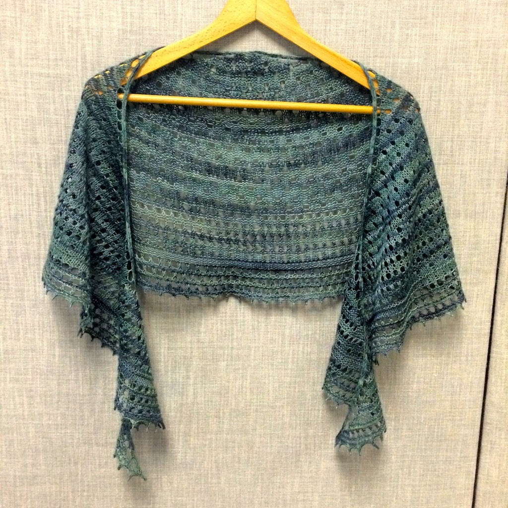 Pebble Beach Shawlette