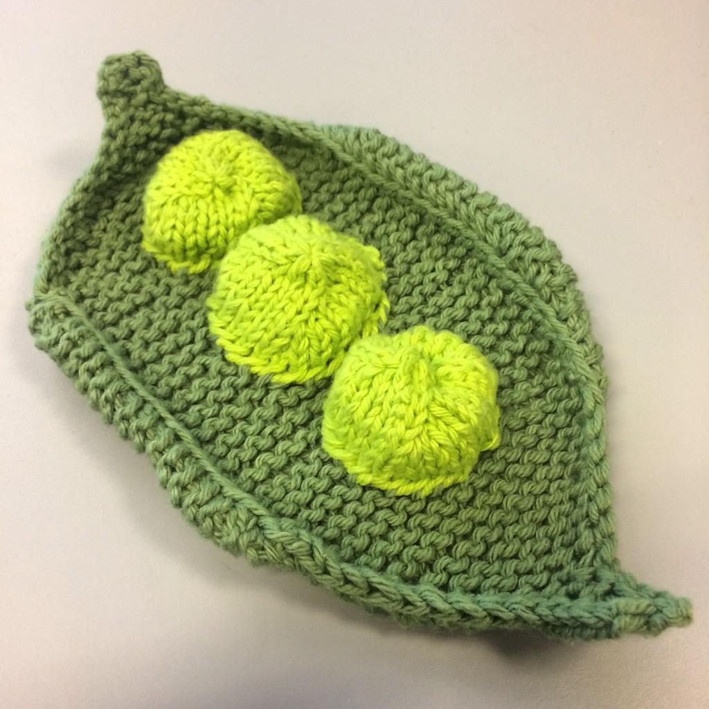 Pea Pod Washcloth