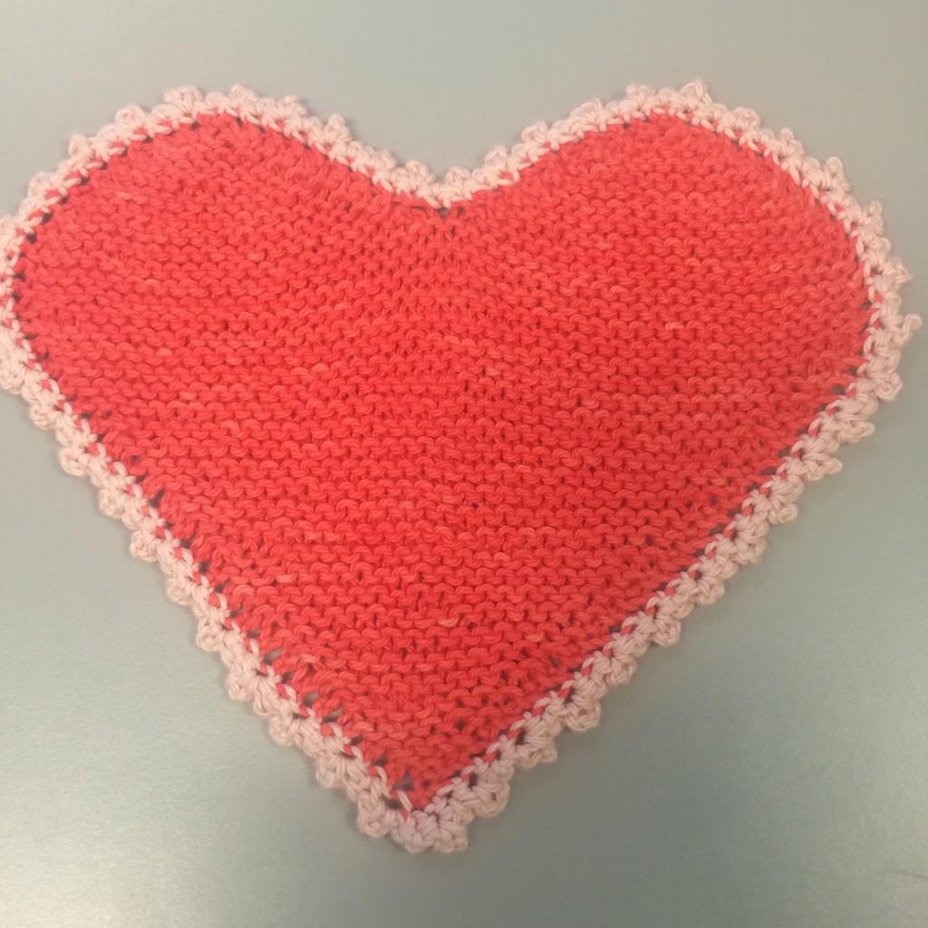 Valentine's Washcloth