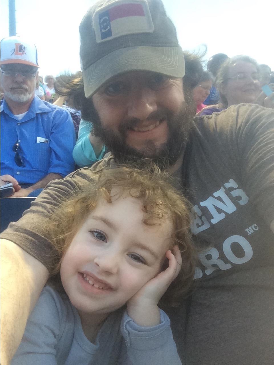 Daddy Daughter Selfie