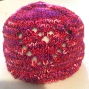 Scrappy Sock Yarn Preemie Hat