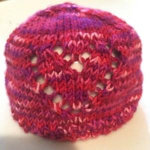 Scrappy Sock Yarn Preemie Hat